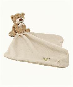 Security Blanket Cream Bear