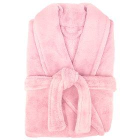 Microplush Robe by Bambury Pink