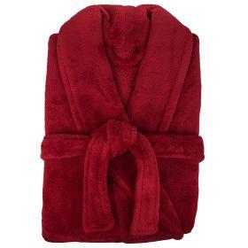 Microplush Robe by Bambury Red