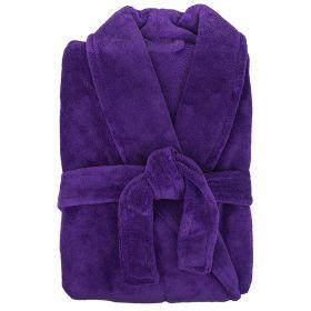 Microplush Robe by Bambury Violet