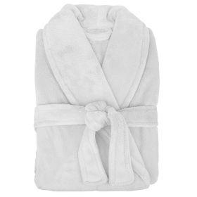 Microplush Robe by Bambury White
