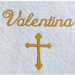 Christening Towel Template 14