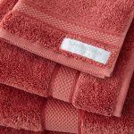Sheridan Luxury Egyptian Towel Raspberry