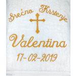 Christening Serbian Towel Template 2